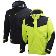 Helly Hansen Uomo Workwear Giacca Capilaril Shell Black Dark Lime M L XL Nuovo