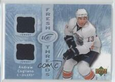 2007-08 Upper Deck Ice Fresh Threads #FT-AC Andrew Cogliano Edmonton Oilers Card
