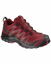 Salomon XA Pro 3D GTX Gore-Tex Scarpe Uomo, Red Dahlia/Black/Barbados Cherry