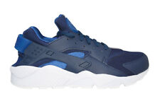 Mens Nike Air Huarache - 318429-420 - Blue White Trainers