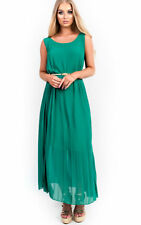 IKRUSH Womens Sorcha Pleated Maxi Dress