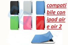 Custodia smart cover per iPad AIR e AIR 2 new retina magnetica stand appoggiare
