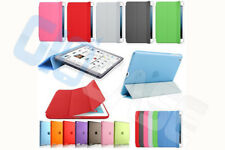 Custodia smart cover magnetica + back case per Apple iPad 2 3 4 magnetica stand