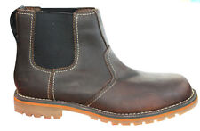 Timberland Uomo Earthkeepers Larchmont in pelle Marrone Scarponcini Chelsea