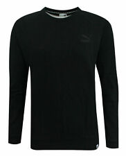 Puma Archive Logo Crew Long Sleeved Womens Pullover Top 573570 01 M12