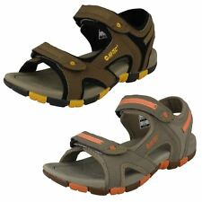 Childrens Hi-Tec Casual Open Toe Hook And Loop Synthetic Sandals GT Strap
