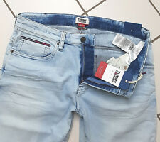 Tommy Hilfiger Shorts Jeans Roonie Bleach Corti Uomo Tapered Fit Pantaloni