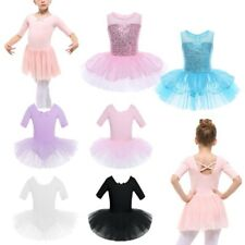 Girls Ballet Dance Latin Tutu Leotard Dress Dancing Skating Dancewear Costume