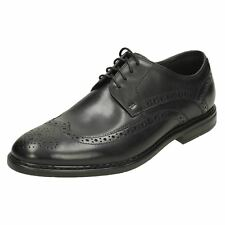 Mens Clarks Formal Lace Up Leather Wingtip Brogues Banbury Limit