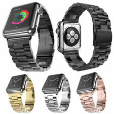 38mm 42mm Stainless Steel Wrist Band Strap Replacement for Apple Watch 3 2 1