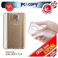 Funda gel TPU flexible 100% transparente para SAMSUNG Galaxy S5 SM-G900F-G900H