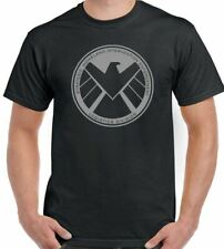 Marvels Agents Of Shield Hombre Superhéroe Camiseta The Avengers Iron Man