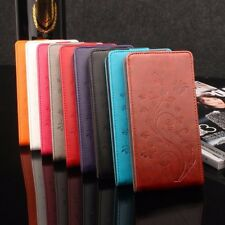cover book flip leather synthetic cover vertical butterflies for Huawei Nova