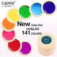 Gel Laca 5ml 141 Puro Colores Gel UV Manicura Diy Francesa Manicura Uñas Gel Pol