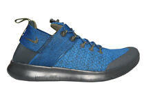 Mens Nike Free Rn Commuter 2017 Premium - AA2430400 - Blue Black Trainers