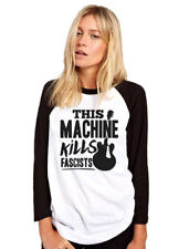 This Machine Kills Fascists - guitar Womens Baseball Top guitarist activism