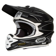 Shoei Vfx-W Motocross Mx Enduro Casco Moto Hectic TC-5 Nero OPACO/Bianco