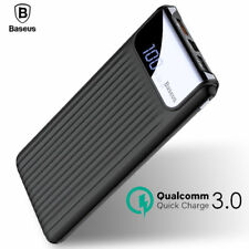 Quick Charge 3.0 Power Bank 10000mAh Dual USB LCD Powerbank External BestQuality