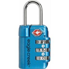 EAGLE CREEK TRAVEL SAFE TSA LOCK CERTIFIED WITH THREE DIAL COMBINATION