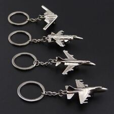 Metal Model Airplane Aircraft Key Chains For Charm Pendants Car Keyring