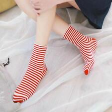 Fashion Socks Casual Korean Style For Women Stripes Kawaii Warm Cotton Novelty