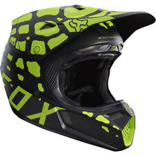 Fox V3 Grav Motocross Mx Casque- Rouge Enduro Moto Vtt Bmx Mips