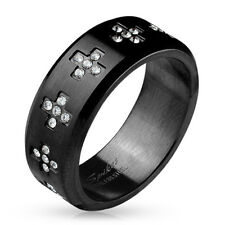 Coolbodyart Mujer Hombre Anillo Dedos Statementring de Acero Inoxidable Stainles