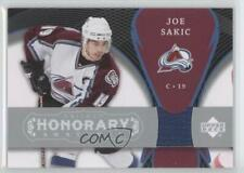 2007-08 Upper Deck Trilogy Honorary Swatches #HS-JO Joe Sakic Colorado Avalanche