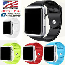 A1 WristWatch Bluetooth Waterproof GSM Phone For Android&IOS Smart Watch