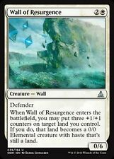 4x Pared de la Rinascita - pared de Resurgence MTG MAGIC OGW Eng/Ita