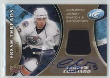2009-10 Upper Deck Ice Fresh Threads Autograph #FT-AC Andrew Cogliano Auto Card