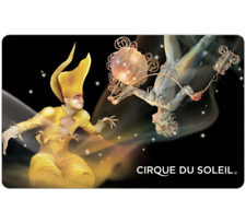 Cirque Du Soleil Gift Card $25, $50, or $100 - Email Delivery