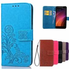 Flip Case For Xiaomi Redmi 4X Case Luxury PU Leather Cover Wallet Phone Bag