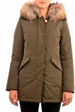 W'S Luxury Arctic Parka Verde Scuro Woolrich  WWCPS2604 Nuovo