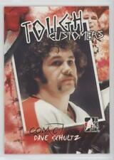 2005-06 In the Game Enforcers Tough Customers #TC-DS Dave Schultz Hockey Card