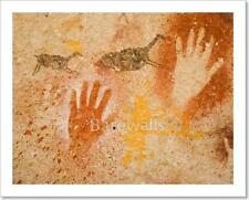 Ancient Cave Paintings Art Print Home Decor Wall Art Poster - G