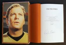 WILLIAM SHATNER SIGNED - STAR TREK MEMORIES LTD ED #3946 (Captain Kirk, Spock)