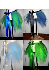 Eye catching Half-Tutu/Bustle. Made to wear over clothes. Green's, Blues etc.