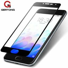 Screen Protectors Full Cover Tempered Glass For Meizu M5 White Black Cases Film