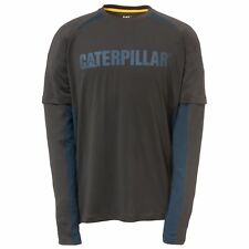 Caterpillar - Camiseta de manga larga modelo Expeditión para hombre (FS4026)