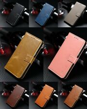 Cover book faux leather bracket case silicone ZTE Nubia Z17S