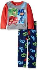 Pj Masks Niños L/S Top 2pc Pijama Pantalones Set Talla 4 6 8