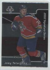2001-02 In the Game Be A Player Signature Series #133 Joey Tetarenko Hockey Card