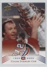 2008-09 Upper Deck Montreal Canadiens Centennial Set #198 Coupe Stanley Cup Card