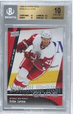 2009 Upper Deck 204 Ville Leino BGS 10 PRISTINE Detroit Red Wings RC Hockey Card