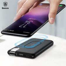 Baseus QI Wireless Charging Power Bank 10000mAh Charger For iPhone X 8 Samsung S