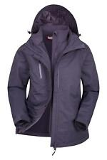 Mountain Warehouse Womens Waterproof 3 In 1 Breathable with Storm Flap