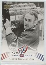 2008-09 Upper Deck Montreal Canadiens Centennial Set #194 Coupe Stanley Cup Card