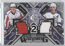2013 SPx Winning Combos WC-RO Luc Robitaille Alexander Ovechkin Alex Hockey Card