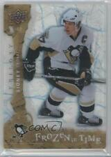 2008-09 Upper Deck Trilogy Frozen in Time #119 Sidney Crosby Pittsburgh Penguins